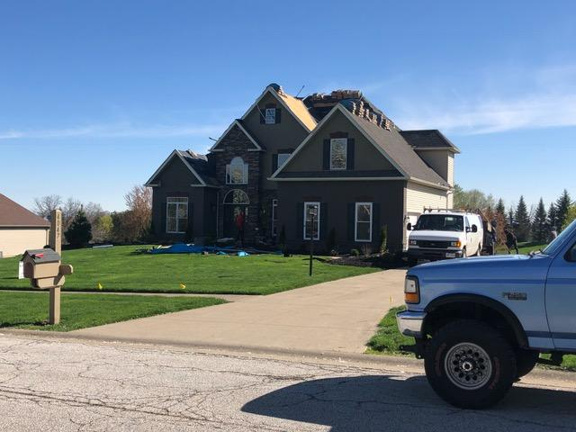 4047 Fairway Drive - Medina County Roofing - A Jenkins Inc